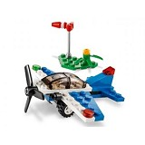 LEGO Brand Store Racing Plane [40102] - Building Set Transportation